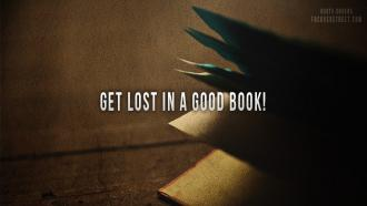 Get lost in a good book