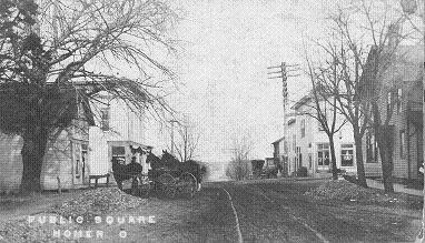 Homer Public Square before 1911